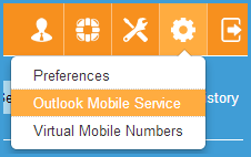 Activate Outlook Mobile Service